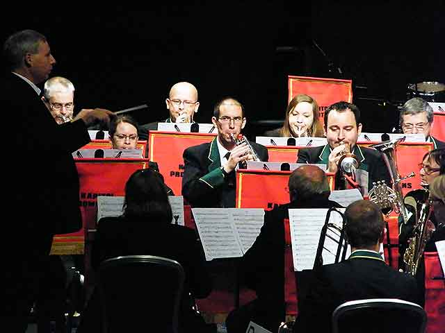 New Forest Brass perform in the 3rd section national finals in Cheltenham