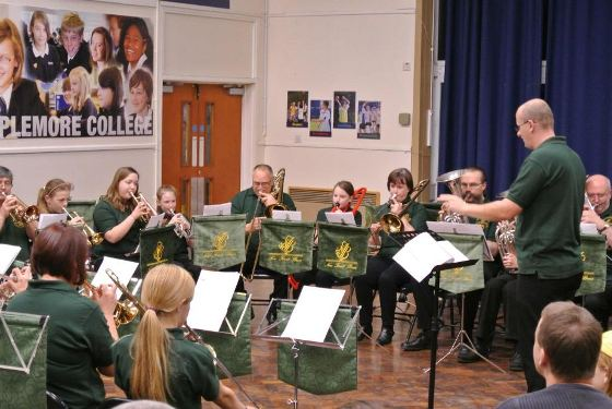 Training Band Concert at Applemore College